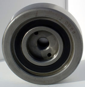 mast bearing with blanked bore