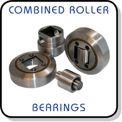 combined roller (CR) bearings and steel channels